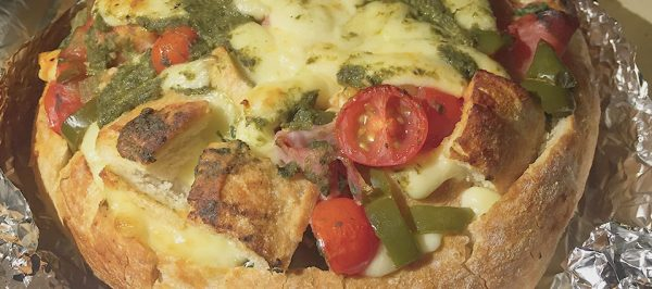 Bread Cheese Pie made with Wildes Mozzarella