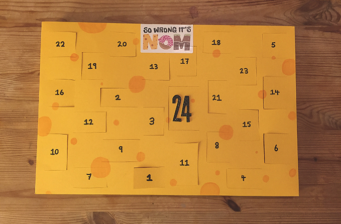 How To Make A Cheese Advent Calendar So Wrong It S Nom