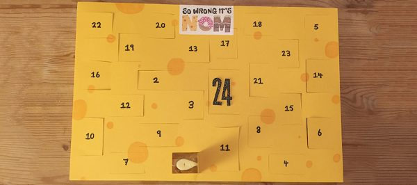How to make a cheese advent calendar!