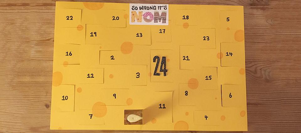 how to make a cheese advent calendar so wrong it 39 s nom