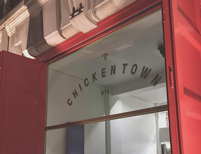 Chicken Town building