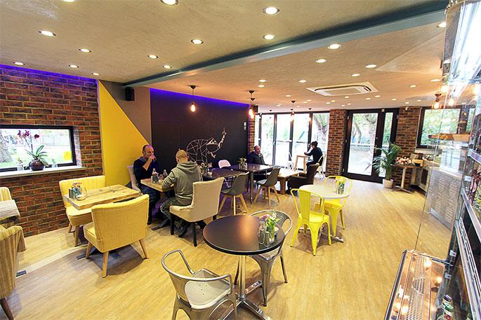 Banc Brasserie interior