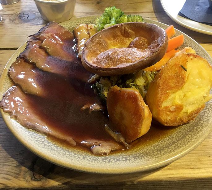 Banc Brasserie sunday roast