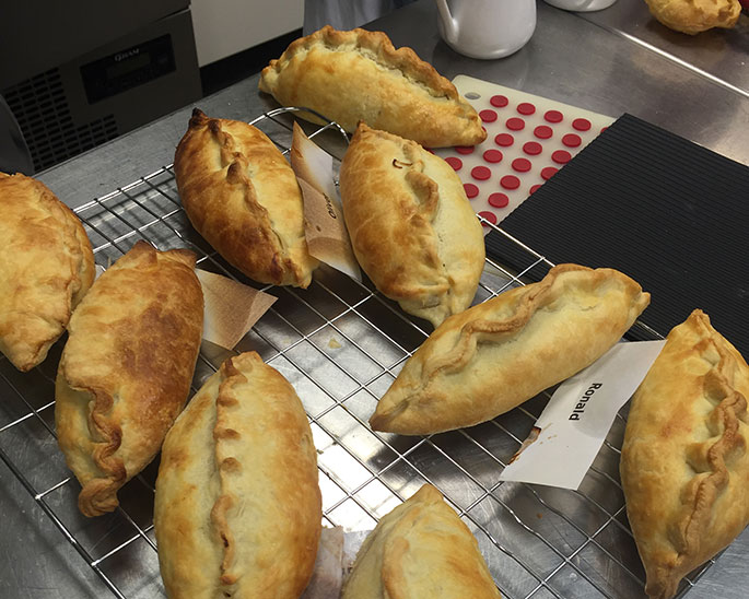 Pastry at Cookery School, Little Portland Street