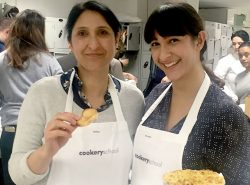 Bonding over pastry at Cookery School, Little Portland Street