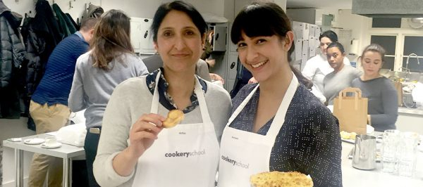 Bonding over pastry at Cookery School, Little Portland Street