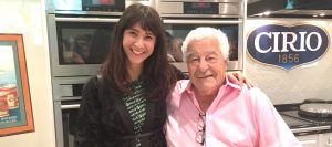 Falling in love with Antonio Carluccio over Cirio Tomatoes