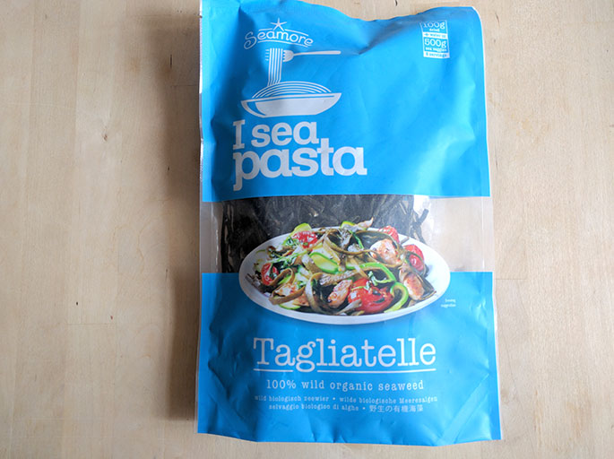 Mermaid Tagliatelle With Seaweed Pasta