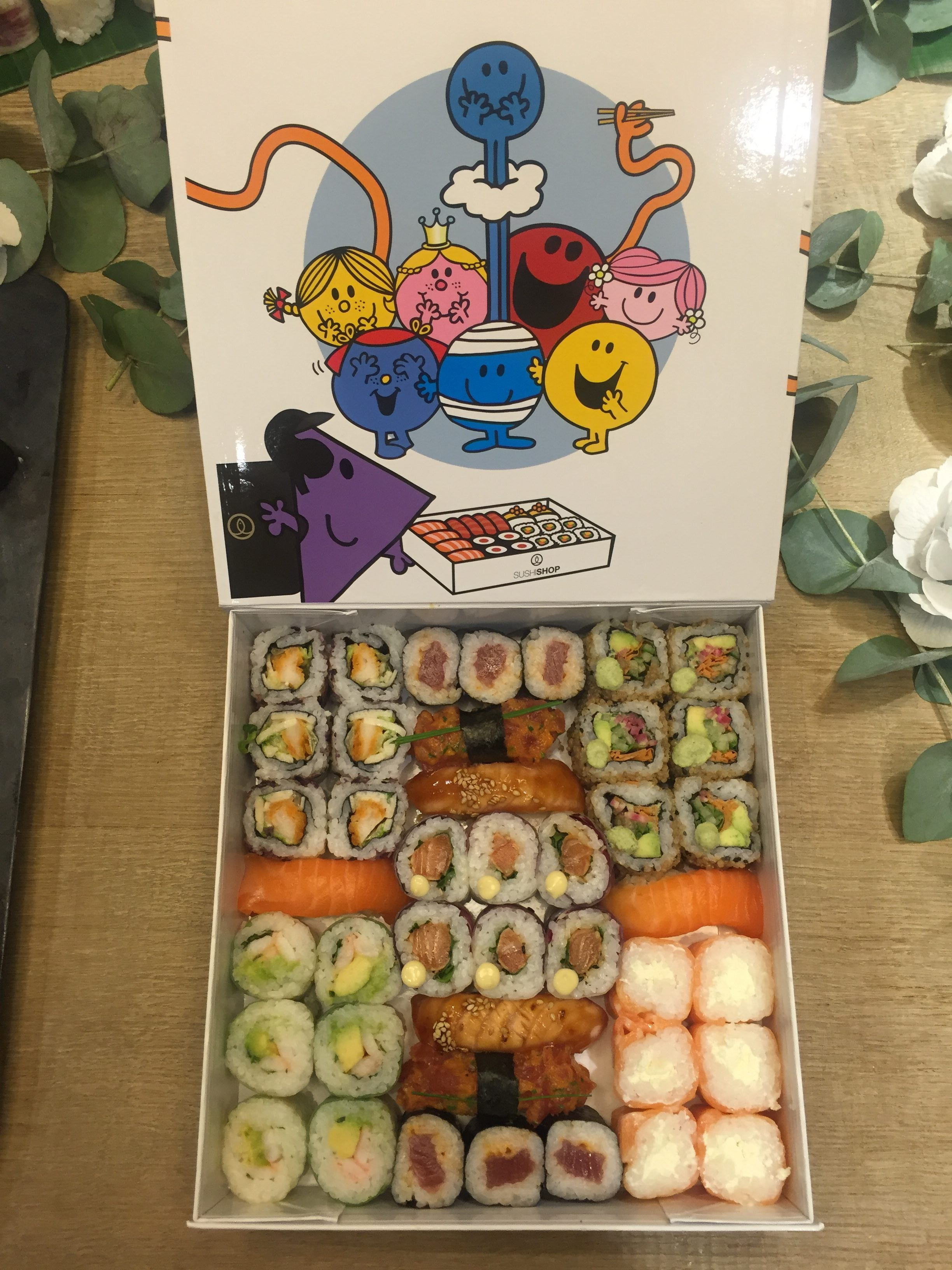 Mr Men Little Miss Sushi