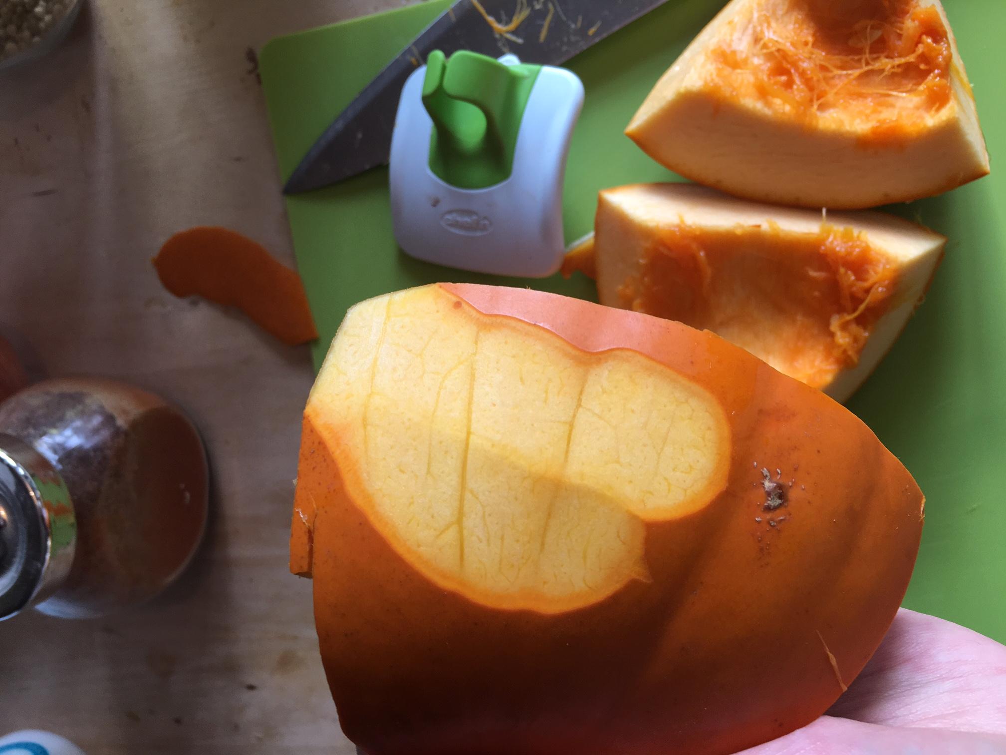 Pumpkin Peanut Pakoras