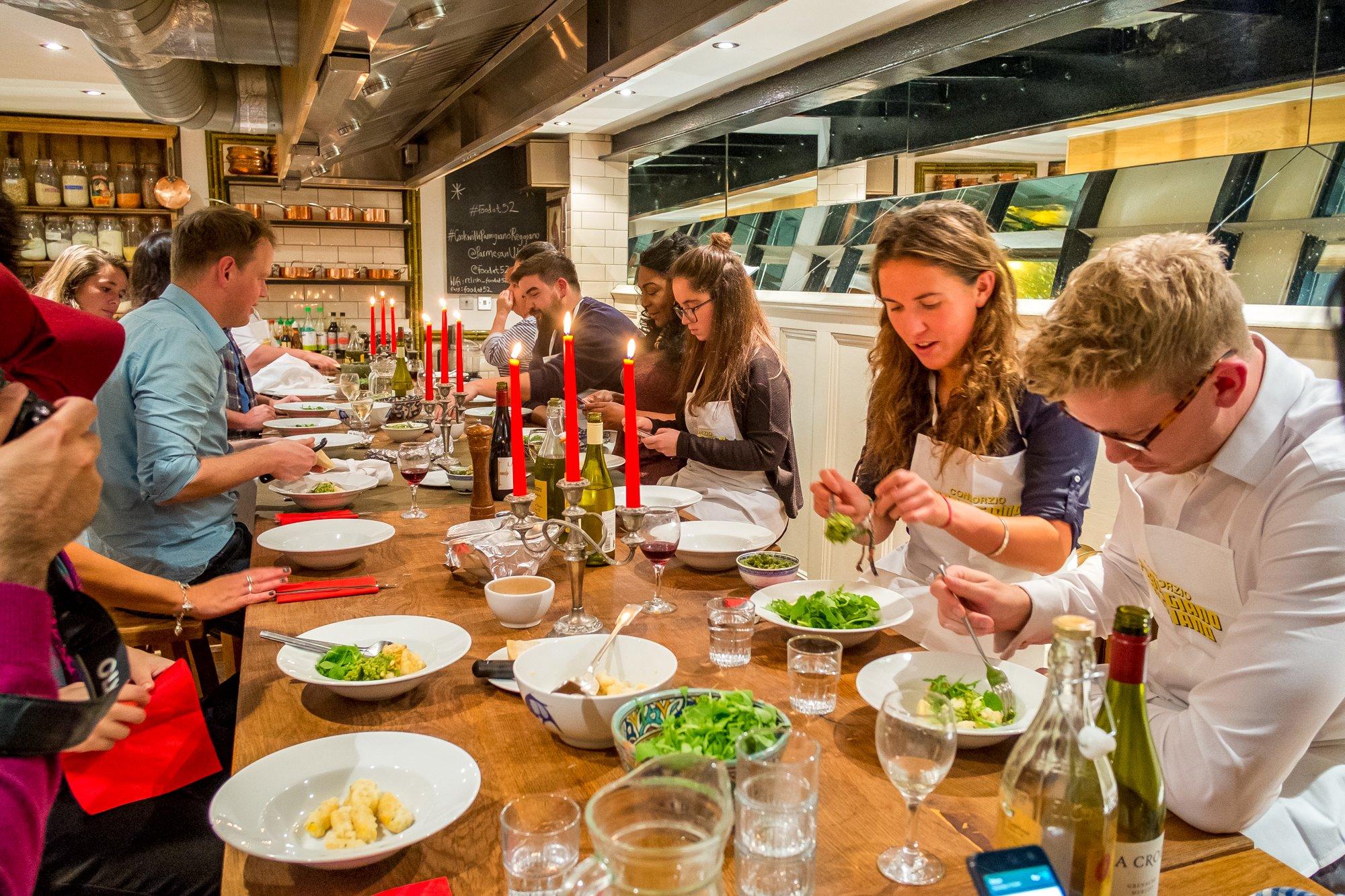 An evening with Parmigiano Reggiano