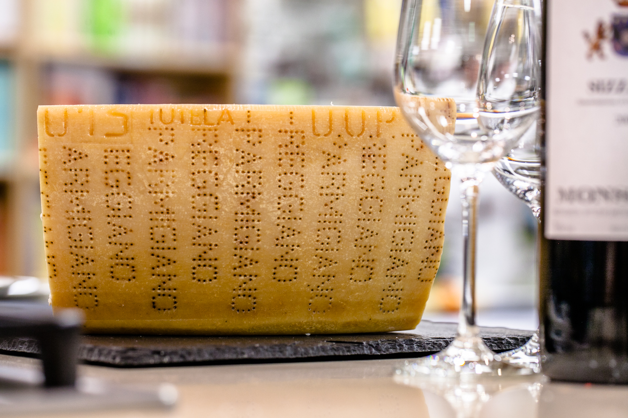 An evening with Parmigiano Reggiano
