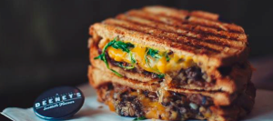 Celebrate Burns Night with Haggis and Cheese Melting Together
