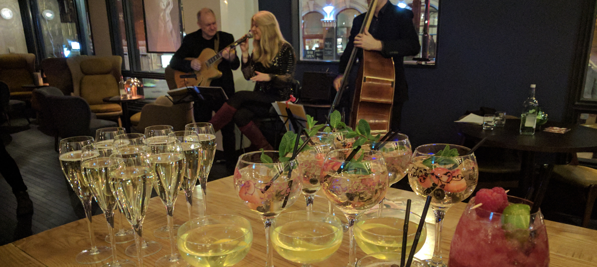 Gin and Jazz at Belgo and Bloom Kings Cross