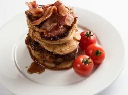 Meat Pigcakes Pancake Day