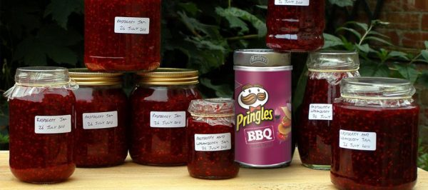 Someone made Pringles Jam and we want to try it