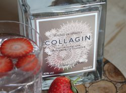Introducing: CollaGin, the anti-aging gin.
