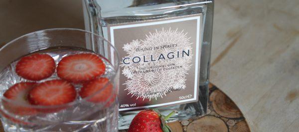 Introducing: CollaGin, the anti-aging gin.