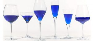Blue prosecco and wine is the latest trend