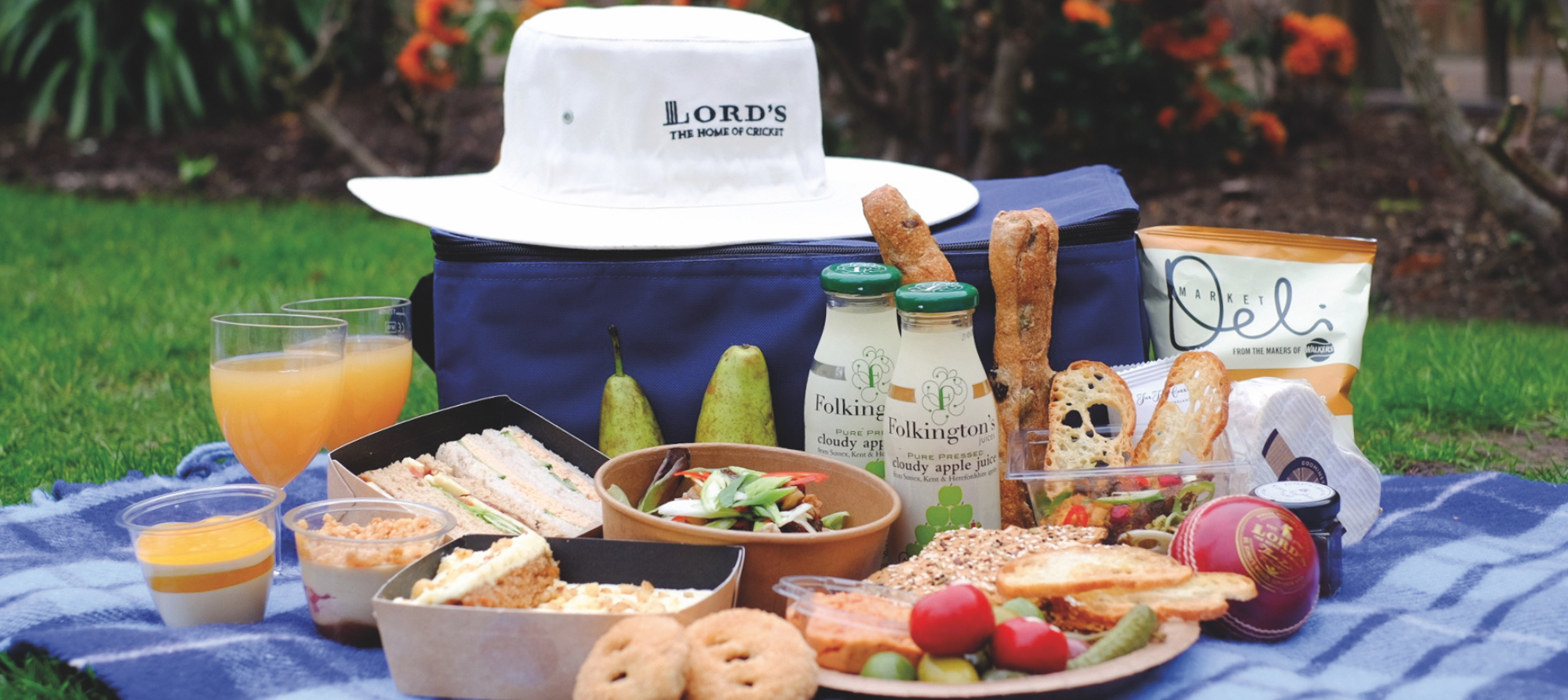 Lord's cricket ground picnic