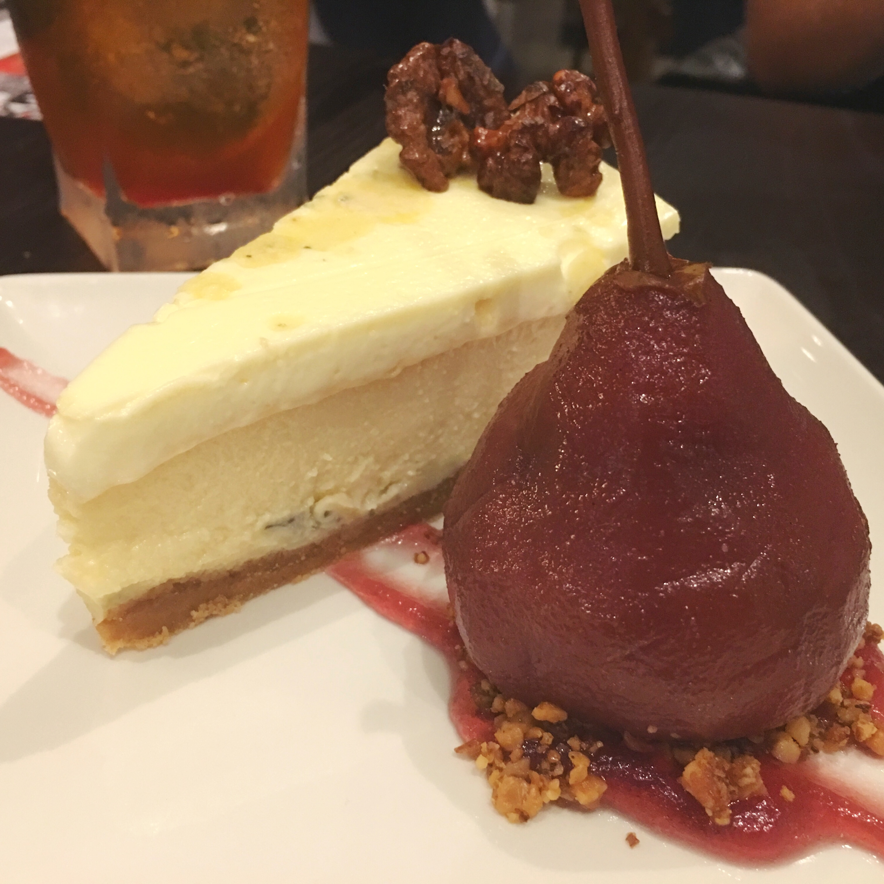 Gorgonzola Cheesecake at P.F. Chang's in London