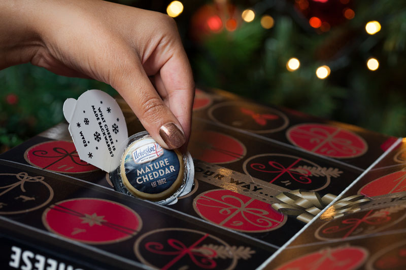 Cheese advent calendar is our new favorite thing photos for Where to buy cheese advent calendar