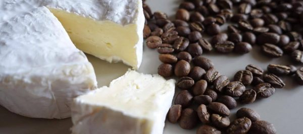 Cheese dunked in coffee. Match made in heaven?
