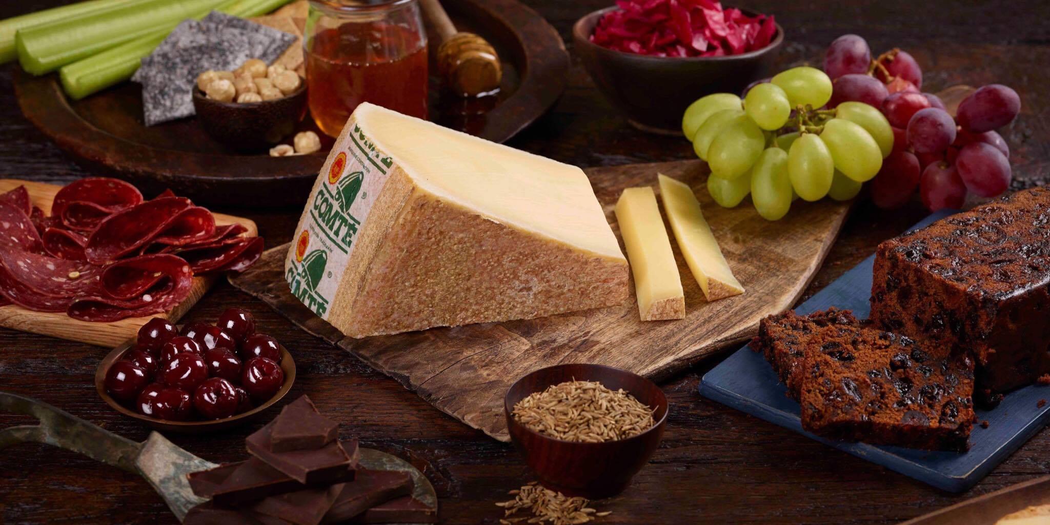 Unusual pairings cheese board