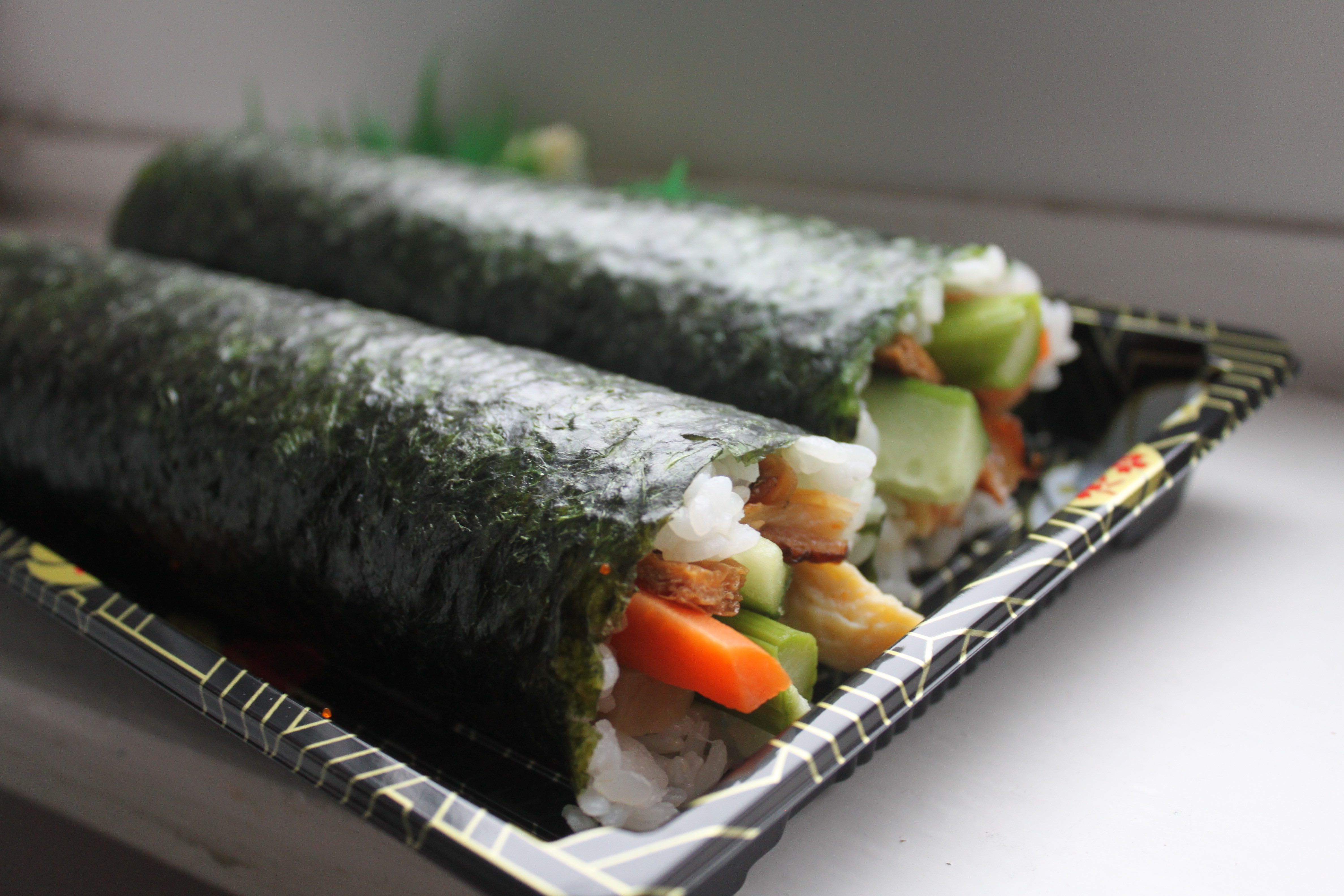 Setsubun Ehomaki sushi rolls good luck