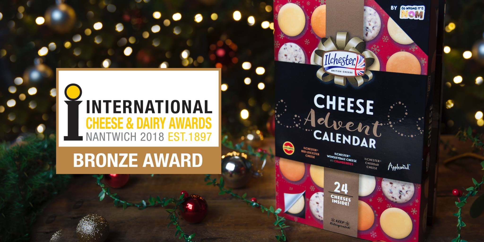 Cheese Advent Calendar wins at the International Cheese Awards