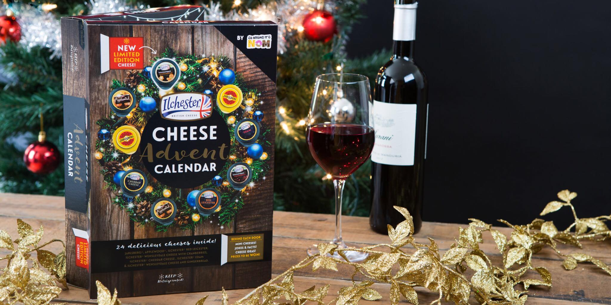 The Cheese Advent Calendar returns bigger and better!