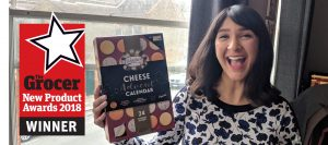 Cheese Advent Calendar Wins The Grocer New Product Award