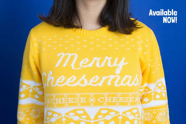 Merry Cheesemas Jumper