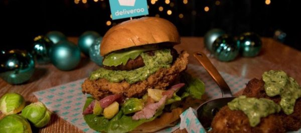 Meet the Sproutmas Burger with green cheese sauce!