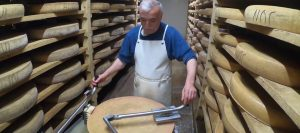 Discovering Comté cheese in the heart of Jura, France.