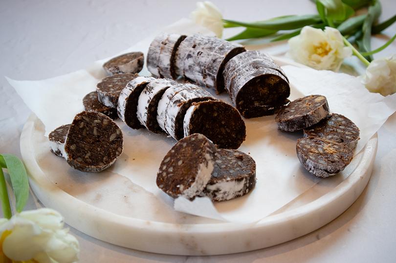 Chausage Chocolate Sausage